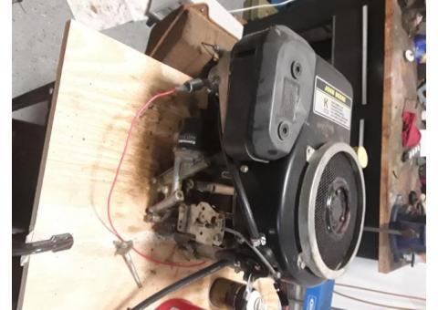 14 hp John deere engine